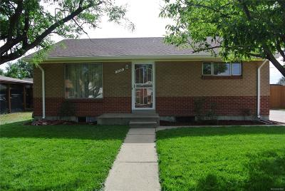 Denver Multi Family Home Under Contract: 7250 Alan Drive
