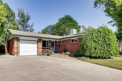 Arvada Single Family Home Active: 6101 Holland Street