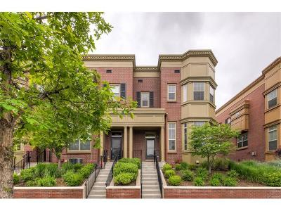 Condo/Townhouse Sold: 7980 East 29th Avenue