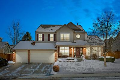 Highlands Ranch Single Family Home Under Contract: 10152 Briargrove Way