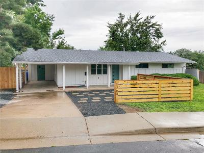 Littleton Single Family Home Under Contract: 5289 South Windermere Street