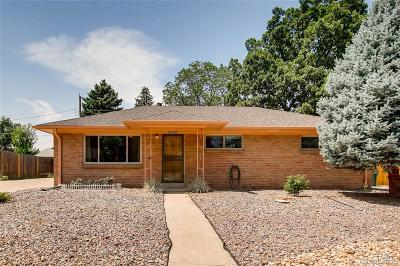 Littleton Single Family Home Under Contract: 5725 South Fox Street