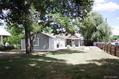 Denver Single Family Home Active: 3025 West 3rd Avenue