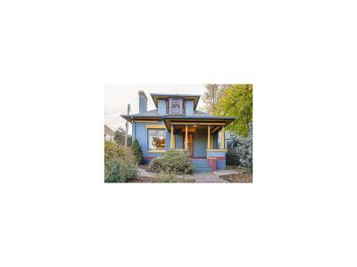 Denver Single Family Home Active: 2223 North Gilpin Street