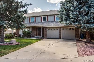 Littleton Single Family Home Active: 10648 West Quarto Drive