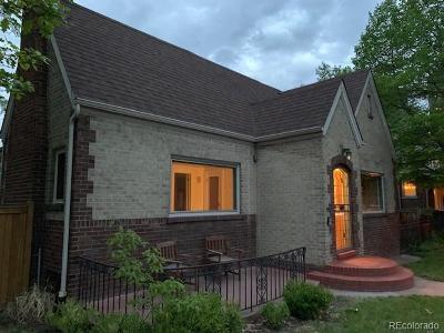 Denver Single Family Home Active: 1125 East Virginia Avenue