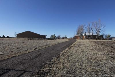 Elbert County Single Family Home Under Contract: 6479/6507 Arrowhead Trail