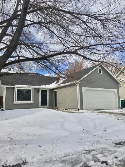 Aurora Single Family Home Active: 4585 South Richfield Street
