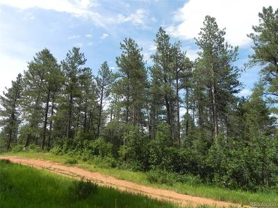 Larkspur CO Residential Lots & Land Active: $59,900