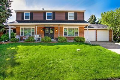 Arapahoe County Single Family Home Active: 7244 South Jasmine Court