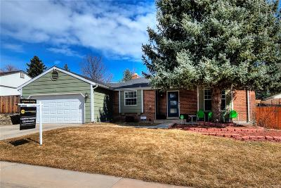 Littleton Single Family Home Under Contract: 7314 South Cody Street