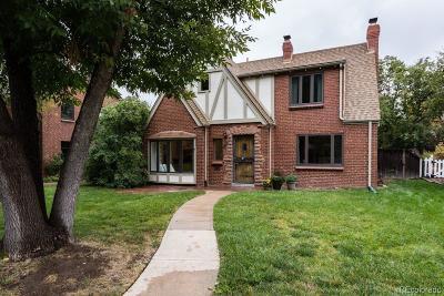 Denver Single Family Home Active: 1714 Niagara Street
