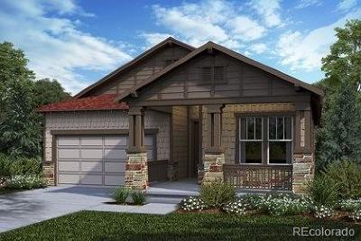 Castle Rock CO Single Family Home Active: $494,820