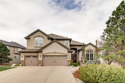 Highlands Ranch, Lone Tree Single Family Home Under Contract: 10628 Ridgecrest Circle