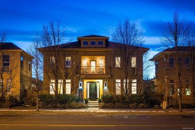 Denver Single Family Home Under Contract: 235 Spruce Street