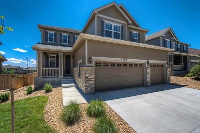 Castle Rock Single Family Home Under Contract: 7734 Blue Water Drive