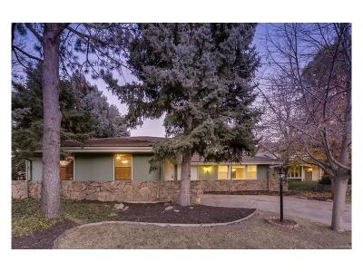 Centennial Single Family Home Active: 6476 South Heritage Place