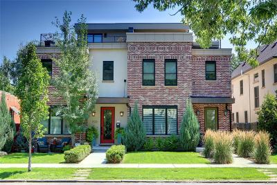 Denver Condo/Townhouse Active: 1522 South Washington Street