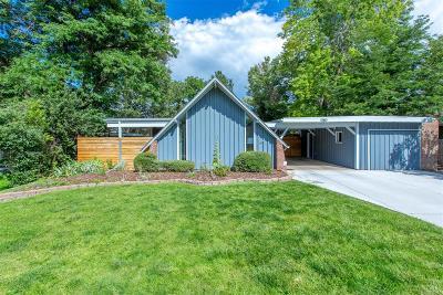 Denver Single Family Home Active: 1380 South Dahlia Street