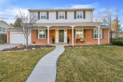 Centennial Single Family Home Active: 6763 South Detroit Circle