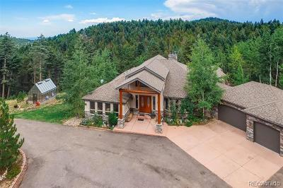 Conifer Single Family Home Active: 12544 Wild Trout Trail