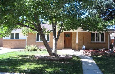 Wheat Ridge Single Family Home Under Contract: 4629 Estes Street