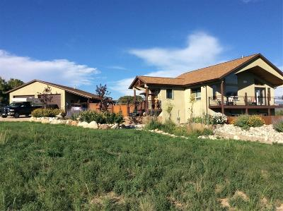 Salida Single Family Home Under Contract: 8550 Antlers Trail