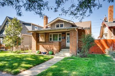 Washington Park Single Family Home Under Contract: 777 South Sherman Street