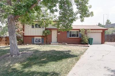 Morrison Single Family Home Under Contract: 5056 South Yank Court