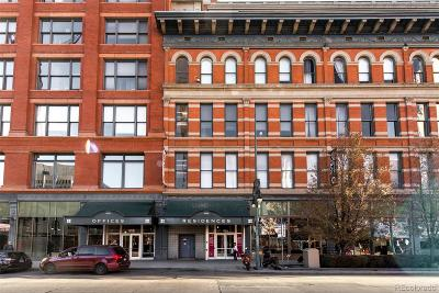 Denver Condo/Townhouse Active: 1555 California Street #613