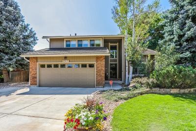 Littleton Single Family Home Active: 7492 West Elmhurst Drive