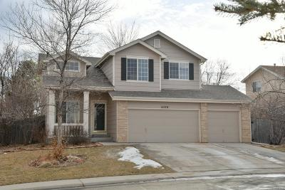 Broomfield Single Family Home Under Contract: 4570 West 124th Avenue