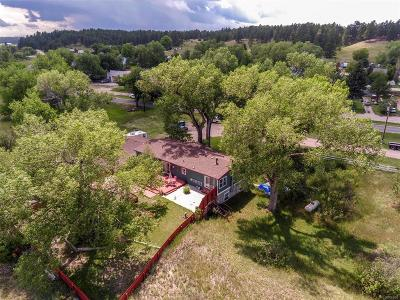 Elbert CO Single Family Home Under Contract: $399,000