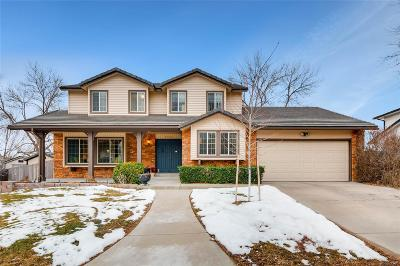 Littleton Single Family Home Active: 7150 West David Drive