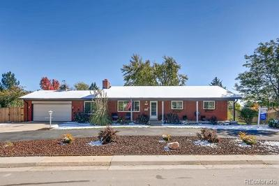 Littleton Single Family Home Active: 7112 South Platte Canyon Drive