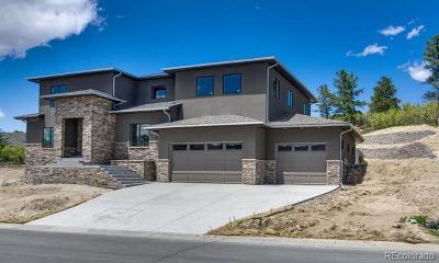 Castle Rock Single Family Home Active: 2205 Saddleback Drive