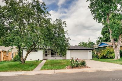 Wheat Ridge Single Family Home Active: 3580 Allison Court