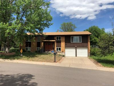 Denver Single Family Home Under Contract: 4080 South Vincennes Court