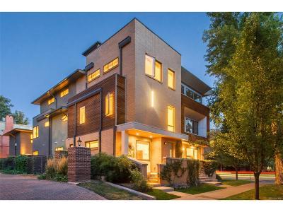 Cheeseman & Moffat, Cheeseman Park, Cheesman Park Condo/Townhouse Active: 802 North Humboldt Street