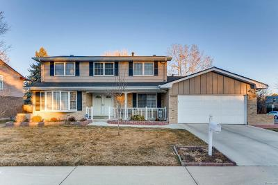 Denver Single Family Home Active: 4194 South Quince Street