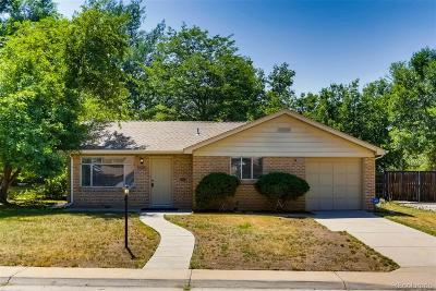 Wheat Ridge Single Family Home Under Contract: 4351 Marshall Street