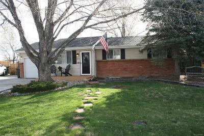 Littleton CO Single Family Home Active: $398,900