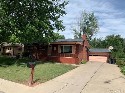 Wheat Ridge Single Family Home Active: 2720 Quay Street