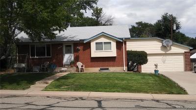 Northglenn Single Family Home Under Contract: 11548 Larson Lane