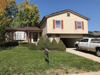 Aurora Single Family Home Active: 14909 East Gunnison Place