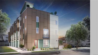 Denver Condo/Townhouse Active: 3544 Navajo Street #101