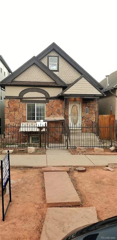 Denver Single Family Home Under Contract: 3443 Lawrence Street
