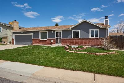 Westminster Single Family Home Active: 10702 Parfet Street