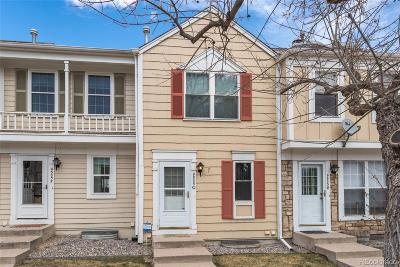 Littleton Condo/Townhouse Under Contract: 9505 West Coal Mine Avenue #G