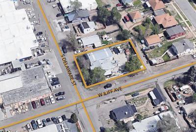 Denver Residential Lots & Land Active: 2292 South Delaware Street